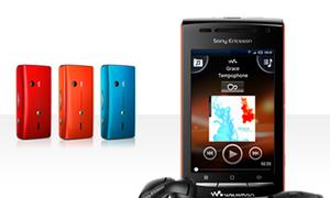 Sony Ericsson ra Walkman W8 chạy Android