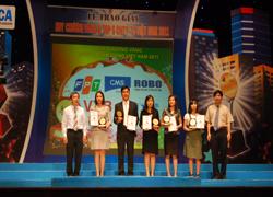 FPT chiếm ưu thế tại giải thưởng CNTT-TT 2011