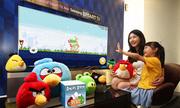 Samsung mang game Angry Bird lên TV