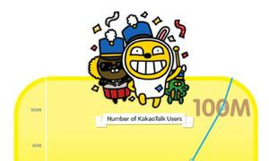 KakaoTalk đạt mốc 100 triệu người sử dụng