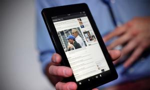 Kindle Fire HD sắp có bản nâng cấp màn hình nét hơn iPad