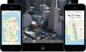 Ứng dụng bản đồ của Apple trên iOS 8 sẽ có nhiều cải tiến