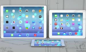iPad Pro màn hình 12,9 inch tới năm 2015 mới ra mắt