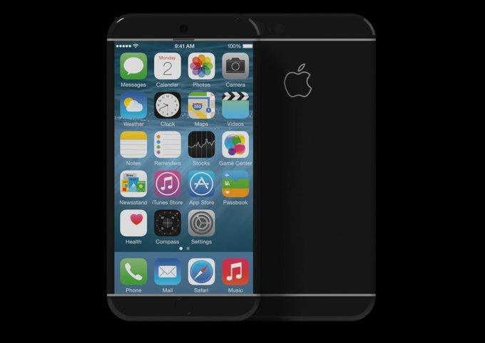 Concept iPhone 7 dùng cảm biến thay phím bấm