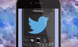 Đại diện BlackBerry dùng iPhone để lăng xê điện thoại Classic