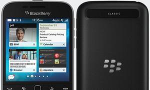 BlackBerry Classic thêm bản không camera, rẻ hơn 50 USD