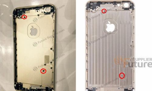 iPhone 6S Plus lộ vỏ kim loại