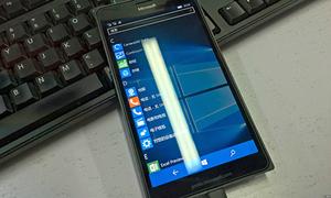 Nguyên mẫu Lumia 950 XL chạy Windows 10 Mobile