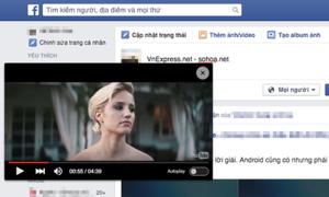 Cách xem được YouTube khi đang duyệt Facebook
