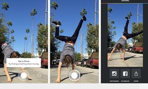 Instagram ra ứng dụng quay video trong một giây