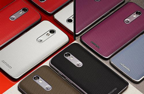 Smartphone màn hình siêu bền của Motorola có nhiều màu sắc, mặt lưng có cả chất liệu da.