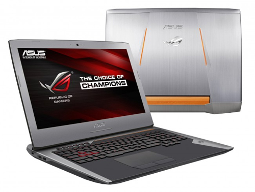 Asus ROG G752VY.