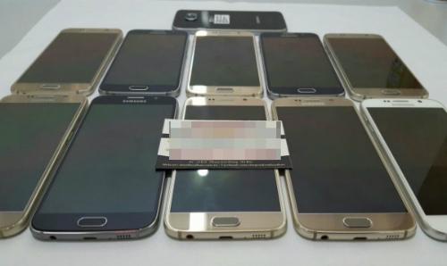 Galaxy S6 được rao bán với mức giá rẻ theo dạng hàng cũ, đã qua sử dụng và chỉ có máy trần.