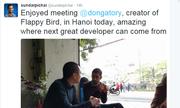 CEO Google khoe cuộc gặp thú vị với Nguyễn Hà Đông
