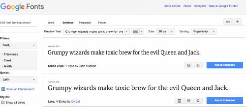 Tìm một phông chữ tuyệt đẹp mà bạn có thể sử dụng miễn phí ( Google.com/fonts )