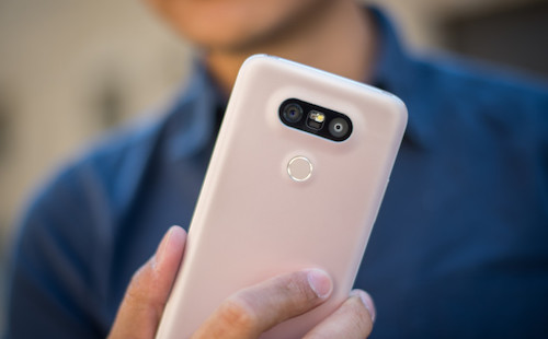 The LG G5 is not the first handset to offer a dual rear camera, so what's the big fuss here? Well, while one of the phone's rear cameras is a normal, 16 MP one with a 78-degree lens (pretty average for a smartphone), the second is an 8 MP one with a super-wide, 135-degree lens - much wider than any other smartphone camera lens, and even wider than the human eye's field of view (about 114 degrees). Thus, the LG G5 lets users take wide-angle photos - 8 MP only - without needing extra accessories.