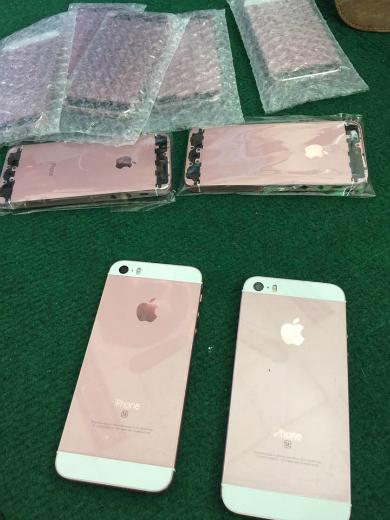 Bộ vỏ màu vàng hồng khiến cho iPhone 5 hay 5s trông giống với iPhone SE vừa trình làng.