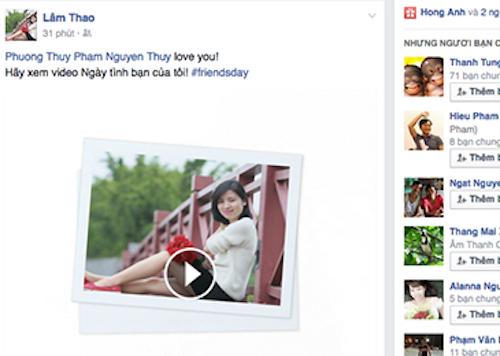Nhân dịp sinh nhật lần thứ 12, mạng xã hội lớn nhất thế giới đã biến ngày kỷ niệm riêng của mình thành dịp tôn vinh những người bạn, thông qua việc chia sẻ video.