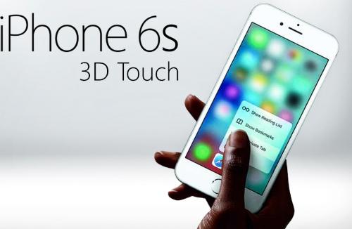 3D Touch, màn hình cảm lực, mới chỉ có trên iPhone 6s và 6s Plus. Ngay cả mẫu iPhone SE vừa trình làng cũng chưa được Apple trang bị tính năng này.