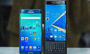 iPhone SE, Galaxy S6 'đá' BlackBerry khỏi Thượng viện Mỹ