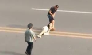 Video cô gái bị túm tóc kéo lê mà không ai cứu gây chú ý tuần qua