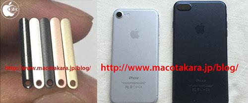 iPhone 7 và 7 Plus có thêm màu đen sẫm.