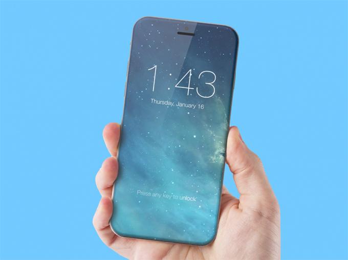 """<p class=""""Normal""""> <em>Màn hình không viền:</em> Việc loại bỏ nút Home vật lý trên iPhone 7 được cho là bước đệm để Apple tung ra smartphone với màn hình không viền năm tới. Blogger nổi tiếng John Gruber trích dẫn nguồn tin nội bộ của Apple nói rằng nhìn từ mặt trước iPhone 8, người dùng sẽ chỉ thấy một màn hình tràn sát cạnh và hoàn toàn không có viền bao quanh.</p> <p class=""""Normal""""> <span>Báo <em>Korea Herald</em> cũng đưa tin iPhone 2017 sẽ dùng công nghệ màn hình AMOLED sinh động và sáng hơn LCD, nhưng vẫn đảm bảo được độ trung thực của màu sắc.</span></p>"""