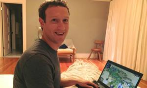 Mark Zuckerberg tiết lộ trò chơi khiến bản thân đam mê công nghệ