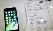 Giá iPhone 7 chính hãng - xách tay chênh 3 triệu đồng