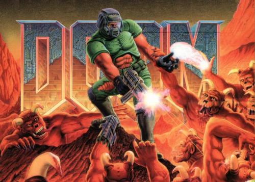 Doom là một trong các game bắn súng tiên phong.