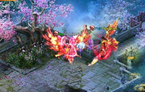 Hình ảnh trong game Thiên Thư Mobile.