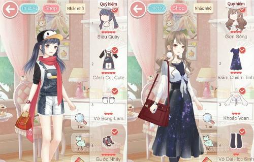 Có nội dung chuyên về thiết kế trang phục, Ngôi sao thời trang thu hút rất đông các game thủ nữ.