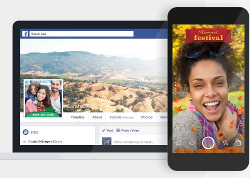 Thay vì sử dụng khung có sẵn, người dùng Facebook có thể tự tạo khung cho ảnh đại diện và ảnh, video bất kỳ.
