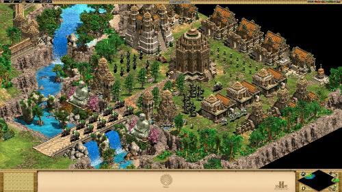Hình ảnh giới thiệu môi trường game và các công trình kiến trúc.