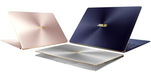 ZenBook 3: siêu phẩm máy tính xách tay cao cấp từ ASUS với thiết kế mỏng nhẹ kỷ lục chỉ 910 gr, 11.9mm, thiết lập chuẩn mới về sự sang trọng và đẳng cấp của một chiếc máy tính xách tay cả về thiết kế bên ngoài lẫn cấu hình bên trong. Máy sử dụng hợp kim nhôm 6013 trong ngành hàng không vũ trụ cho độ nhẹ & bền bỉ vượt bậc. ZenBook 3 trang bị vi xử lí Intel Core i7 Processor (nền tảng Kaby Lake), ổ cứng 512G SSD PCIe x4 3.0 siêu tốc thế hệ mới nhất, bộ nhớ tốc độ cao RAM 2133MHz LPDDR3 lên đến 16GB, và cổng USB Type-C. ZenBook 3 mang lại một trải nghiệm hoàn toàn mới & cao cấp trên một chiếc máy tính. Sản phẩm lọt vào vào chung kết Top những chiếc Laptop xuất sắc nhất năm 2016 trong chương trình bình chọn Sohoa Tech Award 2016 do báo điện tử VN Express tổ chức.