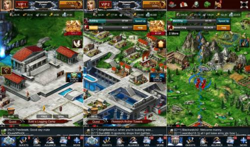 Game of War: Fire Age có lối chơi chiến lược phức tạp nhưng cuốn hút nhờ tính cạnh tranh.