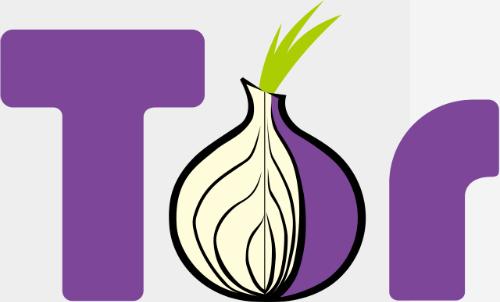 Tor có biểu tượng là một củ hành tây bị cắt dở.