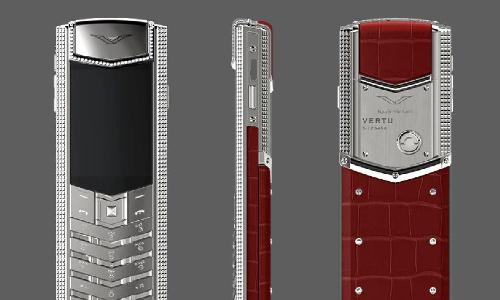 Điện thoại siêu sang Vertu series tài lộc ra mắt dịp Tết