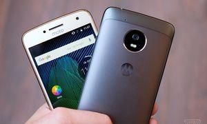 Bộ đôi smartphone Android 7.0 giá rẻ Moto G5 trình làng