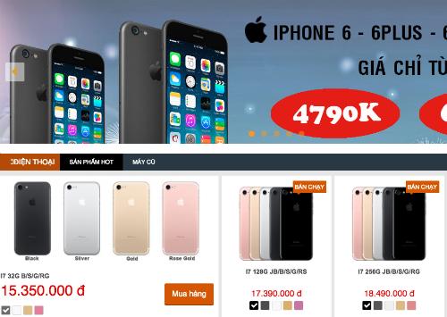Giá 6, 6 Plus xuống chỉ còn 4 đến 5 triệu đồng khiến cho mặt hàng iPhone cũ bán còn tốt hơn những model đời mới như iPhone 7, 7 Plus ở thị trường xách tay.
