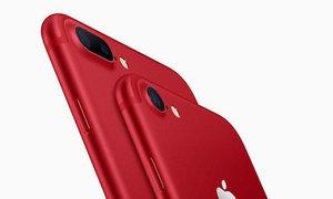 Apple trình làng iPhone 7 và 7 Plus màu đỏ