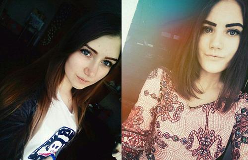Veronika và Yulia Konstantinova.