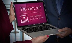 Các hãng hàng không cho mượn iPad, laptop trên máy bay