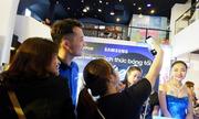 Giới trẻ trải nghiệm Galaxy S8 tại sự kiện của Thế Giới Di Động