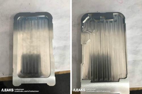 Khung vỏ nhôm đang trong quá trình CNC được cho là chụp tại nhà máy sản xuất iPhone 8 ở Trung Quốc..