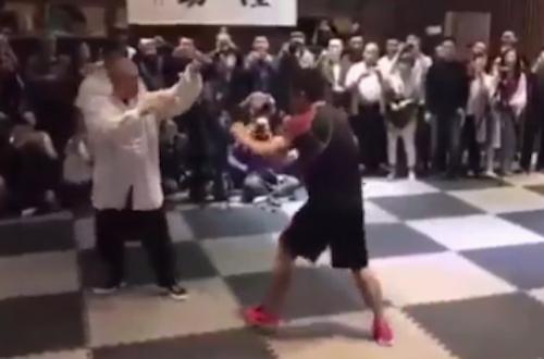 Võ sĩ MMA hạ đo ván cao thủ Thái Cực Quyền trong 10 giây