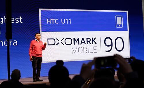 Camera trên U11 có điểm đánh giá DxOMark là 90 điểm.