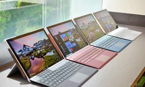 Surface Pro 2017 trình làng với pin 13,5 tiếng, giá rẻ hơn