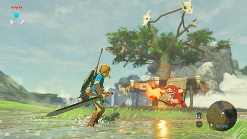 Legends of Zelda: Breath of the Wild được đánh giá là một trong những game hay nhất năm 2017.
