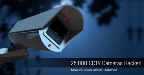 Cuối 2016, nhiều camera an tinh tại Việt Nam từng bị tấn công DDos.